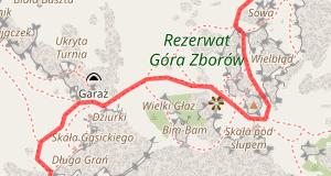 Mapa trasy JURA ULTRA 100!